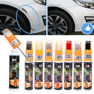 Car Scratch Repair Mending Paint Pen 12ml Repair Coat Paint Fixer Tool 16colors
