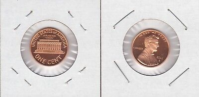 2005 S Lincoln Memorial 1 Cent PROOF Penny US Mint Coin 05 One