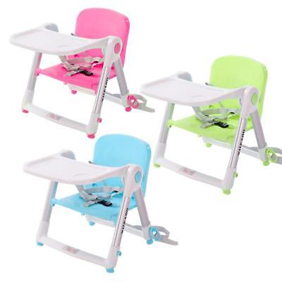Portable Booster Infant Seat Travel Dining Baby Toddler High Chair Fold Camping