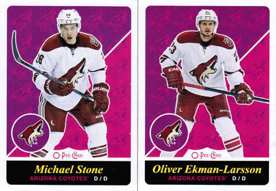 15/16 2015 O-PEE-CHEE OPC HKY RETRO BASE TEAM SETS ANA-WIN U-Pick Team From List