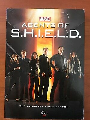 5 Dvd Set! Marvel Agents Of Shield The Complete First Season