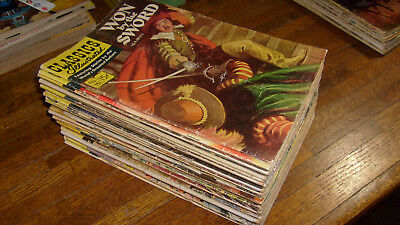 Vintage Classics Illustrated Comics: 33 Issues In Lower Grade Condition