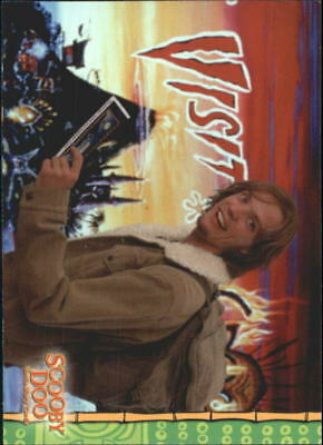 2002 Scooby Doo The Movie Non-Sport Card #7 On To Spooky Island