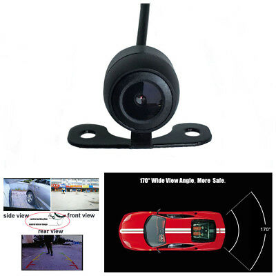 Car Front Side Rear View Backup Camera With Or Without Mirror Image Convert Line