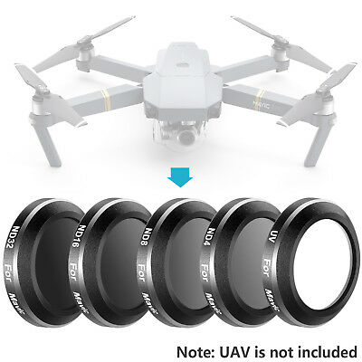 Neewer UV ND4 ND8 ND16 ND32 Lens Filter Kit for DJI Mavic Pro Drone Quadcopter
