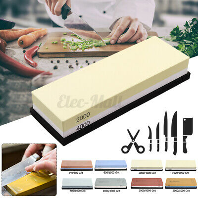 240-8000 Grit Double-Sided Knife Sharpener Water Stone Whetstone Sharpening Tool