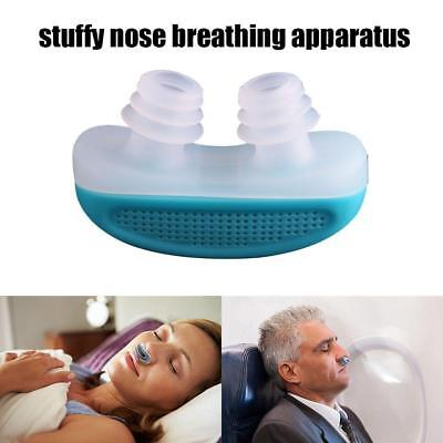 2 in 1 Anti Stop Snoring Snore Free Magnetic Silicone Snore Stopper Sleep Device