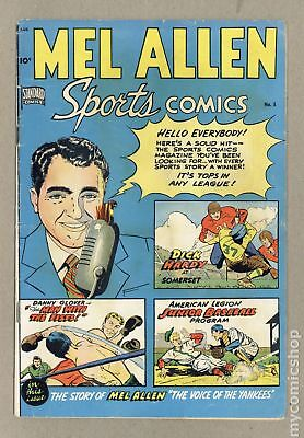 Mel Allen Sports Comics #5 1949 GD/VG 3.0