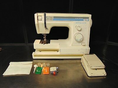 JANOME NEW Home School Mate S40 Sewing Machine With Foot Pedal Custom New Home Sewing Machine Foot Pedal