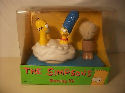 The Simpsons vintage 1997 shaving kit mint new UK Boots exclusive
