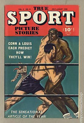 True Sport Picture Stories Vol. 3 #8 1946 VG- 3.5