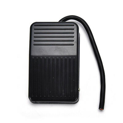 SPDT Nonslip plastic Momentary Electric Power Foot Pedal Switch USEFUL NEW X1$S$