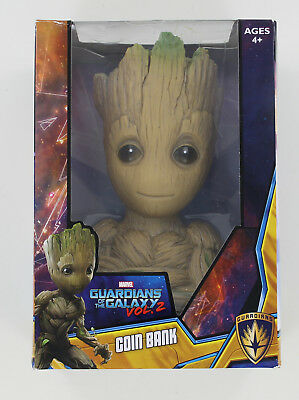 New Mavel Guardians of the Galaxy Vol. 2 Groot Coin Bank