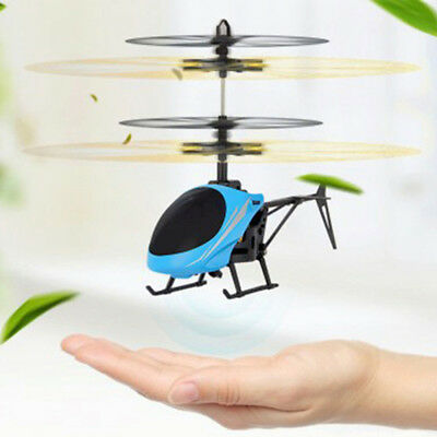 Mini Rc Helicopter Radio Remote Control Aircraft Channel Micro Drone Kids Gifts