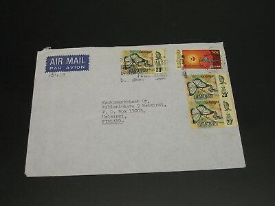 Malaysia 1973 airmail cover to Finland *15429