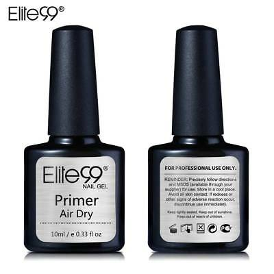 Elite99 Primer Fast Air Dry Top Coat Gel Polish Nail Art DIY Water Based No Acid