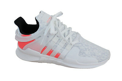 more photos f187d 195ac Adidas EQT Support Adv Lace Up White Pink Textile Mens Trainers BB2791 M7