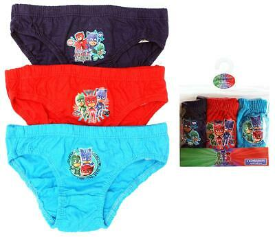Team PJ Masks Licensed 4x boys briefs undies NEW sizes 2-6 Free Postage!