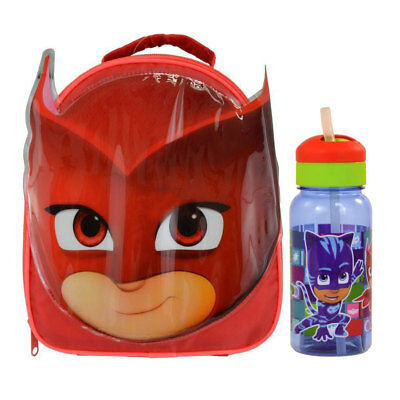 PJ Masks Owlette Lunch Bag and Drinks Bottle *BRAND NEW*
