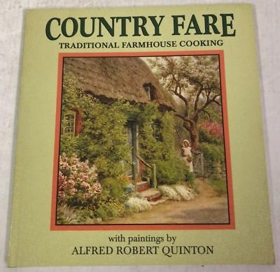 Country Fare, Traditional Farmhouse Cooking(Paperback Book)Salmon-UK-Good