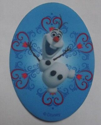 La Reine Des Neiges Frozen Anna Elsa Olaf Ecusson Patch Thermocollant Disney Af
