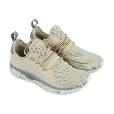 fd7cc6d1ad0084 Puma Tsugi Apex Summer Mens Beige Mesh Athletic Lace Up Training Shoes