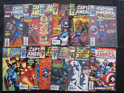 CAPTAIN AMERICA : SENTINEL of LIBERTY : COMPLETE 12 issue series. MARVEL. 1998..
