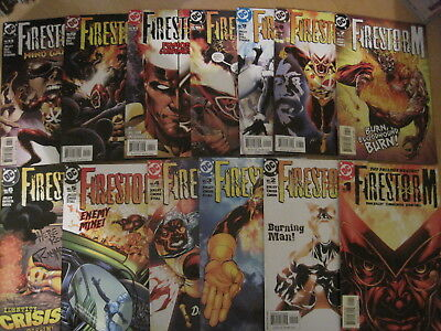 FIRESTORM : COMPLETE 35 ISSUE 2004 SERIES by DAN JOLLEY & CHRIS CROSS. DC.2004