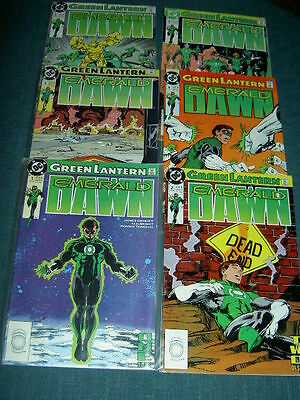 Green Lantern : Emerald Dawn : Complete,defining Classic 6 Issue Series. Dc.1989