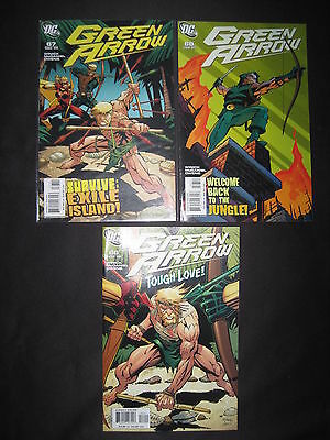 "GREEN ARROW :""The AWAY GAME"", COMPLETE 3  ISSUE STORY by WINICK,McDANIEL.DC.2006"