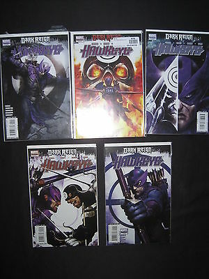 HAWKEYE : DARK REIGN : COMPLETE 5 ISSUE 2009 Marvel SERIES by DIGGLE,RANEY