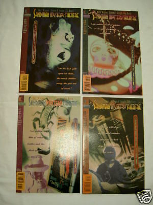 """SANDMAN MYSTERY THEATRE #s 17,18,19,20 """"THE SCORPION"""" COMPLETE 4 issue story1994"""