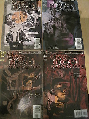 """SANDMAN PRESENTS :""""The DEAD BODY DETECTIVES""""  : COMPLETE 4 ISSUE SERIES. DC.2001"""