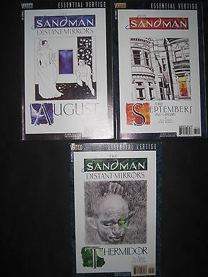 The SANDMAN #s 29,30,31, DISTANT MIRRORS : COMPLETE 3 ISSUE STORY by GAIMAN,WOCH