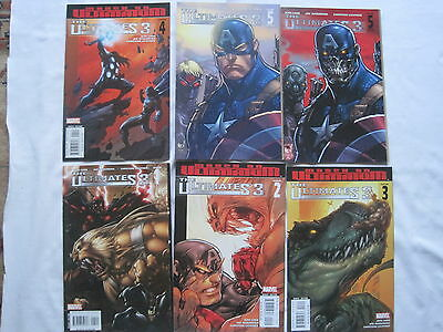 THE ULTIMATES 3 :COMPLETE CLASSIC 5 ISSUE SERIES by LOEB & MADUREIRA.MARVEL.2008