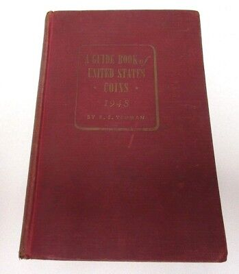 1948 2nd EDITION REDBOOK - A GUIDE BOOK OF UNITED STATES COINS - R.S. YEOMAN