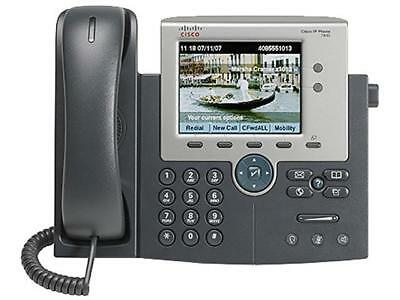 Cisco CP-7945G 16 IP Unified Ethernet Office Telephone Phone CP-7945G