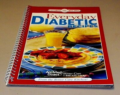 Cook Book Favorite All Time Recipes, Everyday Diabetic Recipes. Booklet