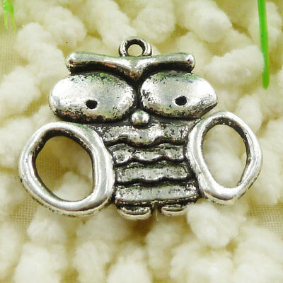 Free Ship 54 pieces Antique silver girl charms 24x18mm #4523