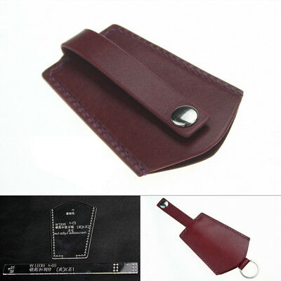 Acrylic Leather Template Key Chain Case Leather Pattern DIY Craft Tool