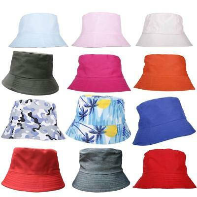 Sun Proof Boys Girls Cute Sun Block Fisherman Hat Bucket Hat Summer Cap Fashion