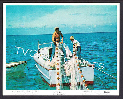 8x10 Lobby Card~ FLIPPER ~1963 ~Luke Halpin ~Chuck Connors