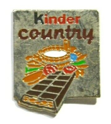 Pins Chocolat Kinder Country Barre Chocolatee