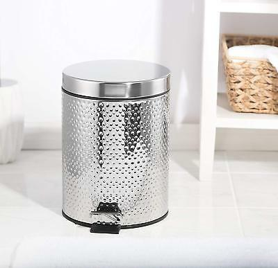 Fortune Candy Step Trash Can Garbage Can with Lid Small Trash Can for Bathroom