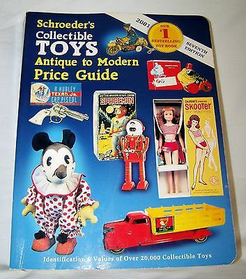 Schroeders Collectible Toys Antique to Modern Price Guide 2001-7th Edition-PB