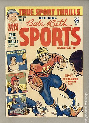 Babe Ruth Sports Comics #5 1949 VG+ 4.5