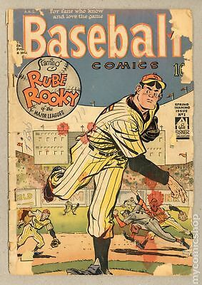 Baseball Comics (Will Eisner) #1 1949 FR 1.0