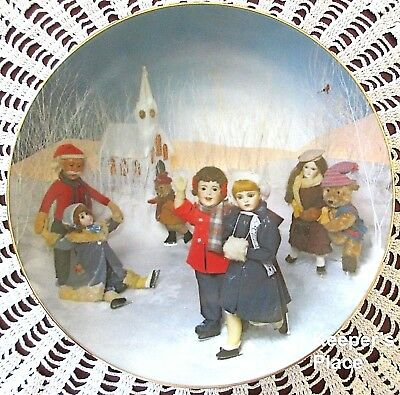 Carol Greunke ICE DELIGHT Arabelle And Friends RECO 1st Issue Porcelain Plate