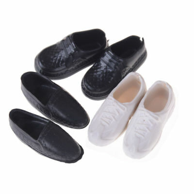 Boy Dolls Shoes Boots for Barbie Dolls 4 Pairs Sneakers Cusp High Quality New