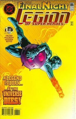 Legion of Super-Heroes (4th Series) #86 1996 VG Stock Image Low Grade